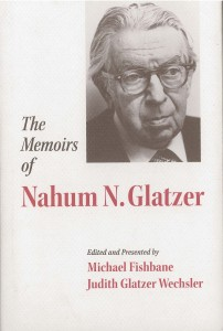 Fishbane Glatzer Memoirs