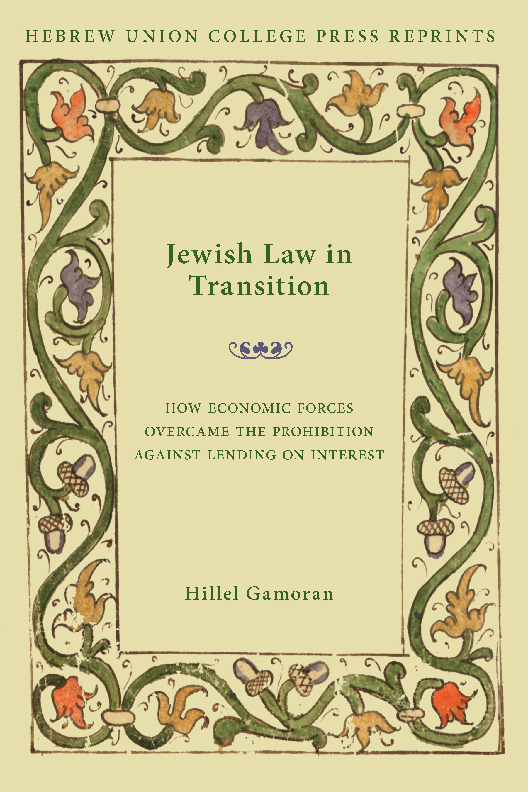 jewish law in transition how economic forces overcame the jewish law in transition how economic forces overcame the prohibition against lending on interest