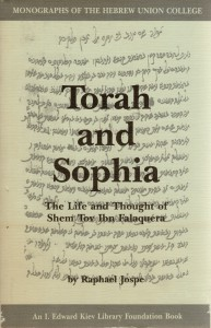 Jospe Torah and Sophia cover 200